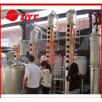 Quality 100Gal Stainless Steel Whiskey Commercial Distilling Equipment 1 - 3Layers wholesale