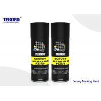 China Toluene Free Survey Marking Paint Fast Drying Type For Highlighting & Marking Out Area on sale