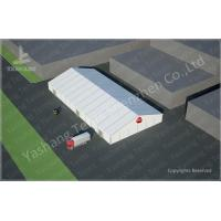 Buy cheap Durable Removable Outside Aluminum Storage Tent , Temporary  Tent 30X60 M Flame Retardant in Food Industry product