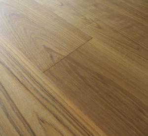 190mm single plank Burma Teak Engineered Hardwood Flooring, natural color