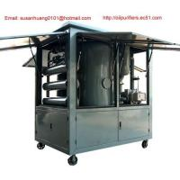 Quality Outside use vacuum Transformer oil purifier/ Dielectric oil filtration/ oil treatment/ purification wholesale
