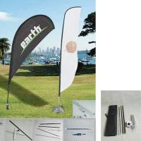 "Quality 50.8""W x 157.5""H outdoor feather banners /  Promotion Feather Flag and teardrop wholesale"
