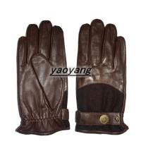 Quality High quality and durable mens sheepskin gloves YYLM013 wholesale