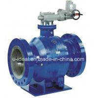 China Fully Welded Trunnion Ball Valve on sale