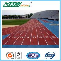 Quality Professional Jogging Track Material , Athleitc Sports Outdoor Running Track wholesale