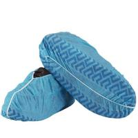 Quality Non - Skid Disposable Shoe Covers , Breathable Non Woven Disposable Indoor Shoe Covers wholesale