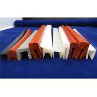 Quality Colorful Silicone Seal Strip / Silicone Sponge Gasket Corona Resistance wholesale