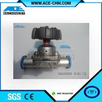 """Quality Stainless Steel Manual Type Tank Bottom Valve 3 Way DN40 OD 1.5"""" Stainless Steel 316 Sanitary Diaphragm Valve wholesale"""
