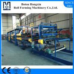 Quality PLC Control Sandwich Panel Making Machine 1000 / 12000mm Annual Output wholesale