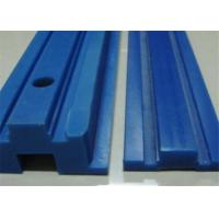 Quality High corrosion resistance nylon plastic chain guide rail and custom profile wholesale