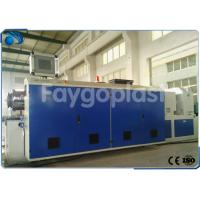 Quality Conical Twin Screw Extruder Machine , PVC Pipe Manufacturing Machine High Precision wholesale