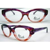 Cheap Unique Oval Flexible Acetate Womens Eyeglass Frames For Promotion 45-17-135mm for sale