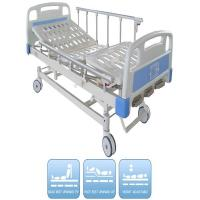 Quality Three Functions Pediatric Manual Hospital Bed CE certificate Aluminum Alloy Side Rails wholesale