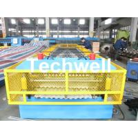 Quality Steel Silo Wall Sheet Corrugated Roll Forming Machine for Silo Side Panel wholesale