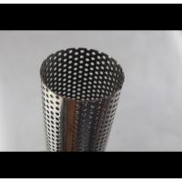 China 201 Perforated Stainless Steel Tube Spiral Welding Line Thickness 1mm - 50mm on sale