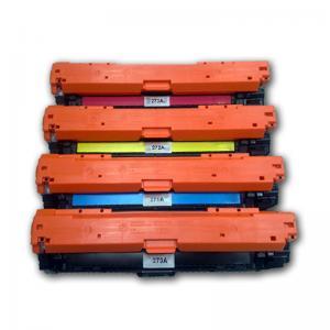 Quality Recycled HP 650A CE270A CE271A CE272A CE273A Color Toner Cartridges wholesale
