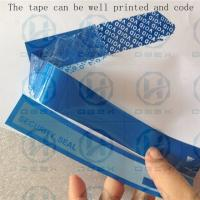 Quality PET Packing Security Seal Tape One Time Used Transportation Free Shipping wholesale