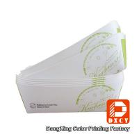 China Environmental Friendly Custom Fast Food Packaging , Varnished Chicken Wings Box on sale