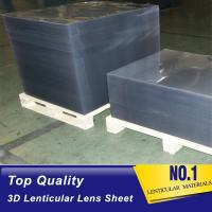 China PLASTIC LENTICULAR 100 LPI 0.58MM 3D plastic film lenticular printing sheet PP PET lenticular sheet importer in usa on sale