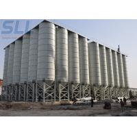 China 1000T Capacity Cement Storage Silo Low Level Cement Silos For Dry Mortar Plant on sale