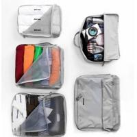 Quality V-Share Bag in bag 5 pieces set travel packing cube in Grey wholesale