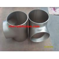 China ASTM B363 Grade 7 Titanium Alloy  reducing tee on sale