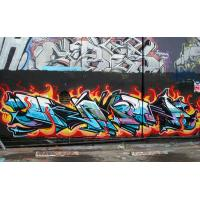 Excellent Coverage Non fading Graffiti Spray Paint For Diffient Surface