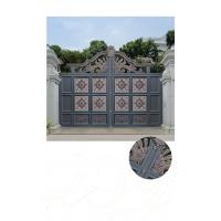 Cheap Villa Aluminum Electric Garden Door Opening Type With Remote Control Motor Shaft for sale