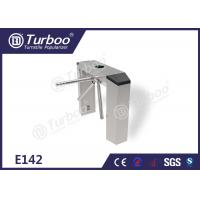 Quality Three Arm Turnstile / Security Entrance Gates With RFID IC Cards Reader wholesale
