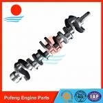 Quality ISUZU crankshaft supplier, high quality 6BD1 Crankshaft 1123104370 for forklift/excavator wholesale