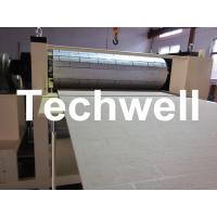 Quality Pattern Carved Depth 0.4 - 0.7mm MDF Panel Embossing Machine With Speed Frequency Control wholesale