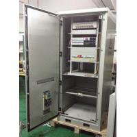 "Quality DDTE011, IP55 19"" Rack Custom Made Outdoor Integrated Telecom Enclosure For Base Station wholesale"