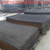 China stainless expanded mesh/expanded metal stainless steel mesh/diamond metal mesh panels/black expanded metal on sale