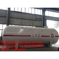 Buy cheap best price CLW brand 45,000L surface lpg gas storage tank for sale, hot sale stationary propane gas storage tank product