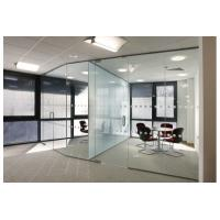 China Modern design Frameless Glass office partition/movable office partition cheap price on sale