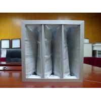 China Activated Charcoal House Air Filters , Dust Collector Filter Bags Varied Rated Air Flow on sale