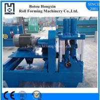 Quality 8 - 12m / Min Speed Sheet Metal Rolling Machine , C U Metal Roofing Roll Former wholesale
