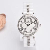 Quality Sapphire Crystal Ceramic Quartz Watch Waterproof With China / Japan Movt wholesale