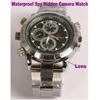Cheap Waterproof Wrist Watch Video Camera Recorder Spy Hidden Camera Private Detective Gadget for sale