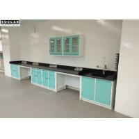 Quality Hospital Chemical Steel Lab Furniture Acid Alkali Resistant Benchtops wholesale