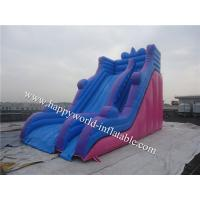 China Commercial inflatable slide , inflatabl mega slide , giant slip n slide on sale