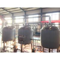 Quality 10bbl Craft Commercial Beer Brewing Equipment PU Foam Insulation Steam Electrical Heating wholesale