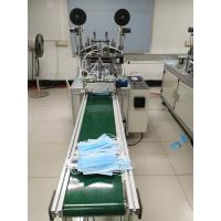 China Nonwoven Fabric Fully Automatic Face Mask Production Line 6500*3345*1830mm on sale