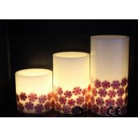 Quality Decorative Halloween Pillar Candles , Halloween Battery Candles HL-007 wholesale
