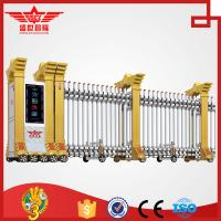 Quality Trackless Government Entrance Electric Retractable Automatic Expandable Gate L1510 wholesale