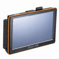 Buy cheap GPS Navigator with 500MHz Frequency, Flat Radar Detector and Early Warning from wholesalers