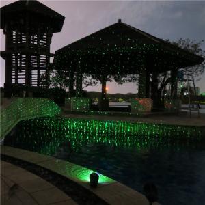2014 HOT SALE Red and Blue waterproof IP65 outdoor garden laser light/landscape laser