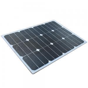 Quality Mono Cell Flexible Portable Solar Panels , 100W Flexible Solar Panels For Boats wholesale