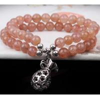 Quality Natural pink crystal lucky bag women