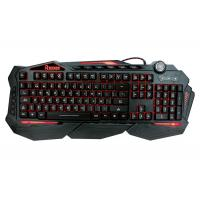 Quality Multimedia Anti Ghosting Light Up Gaming Keyboard Backlit Windows / Mac Compatibility wholesale